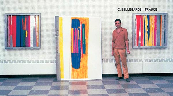 Exhibition - Claude Bellegarde in 1964 at Fairleigh Dickenson University, New Jersey USA