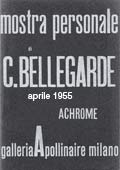 Exhibition Achrome Galleria Apollinaire, Milan 1955